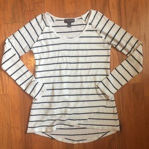 Striped Maternity Shirt | a pea in the pod